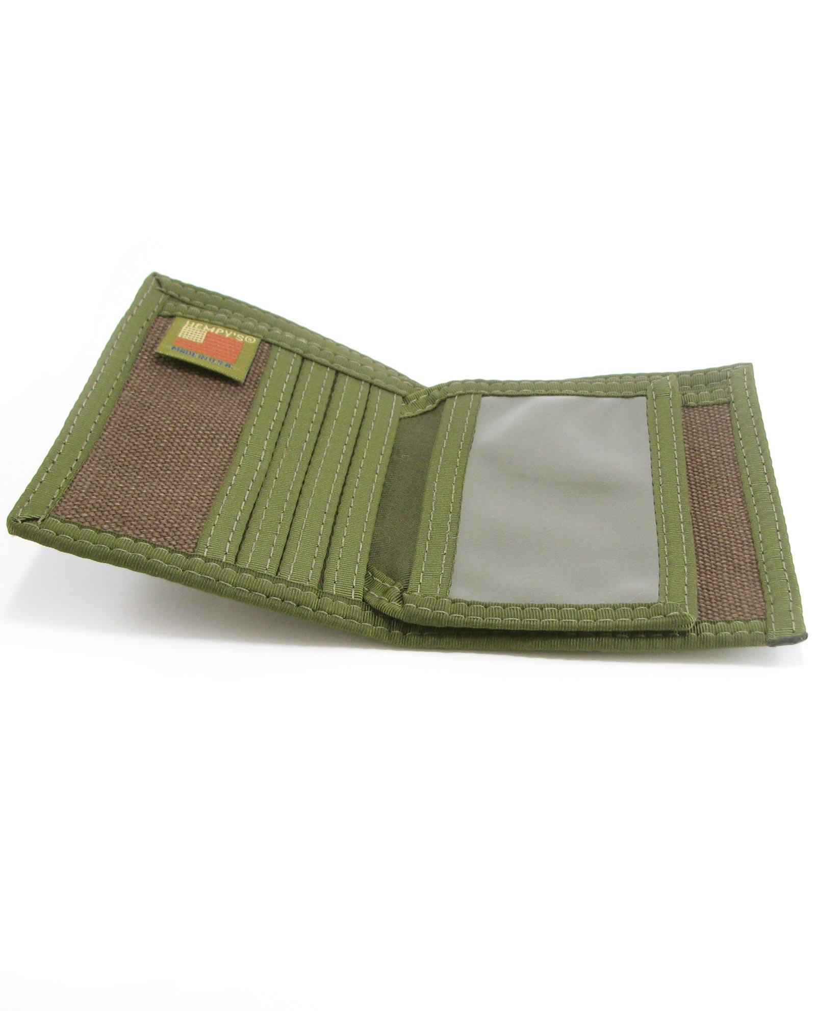 Home gt shop gt hemp wallets gt bifold gt hemp bi fold wallet brown with