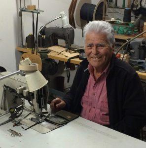 Antonio Garcia, making Hempy's wallets since 1995