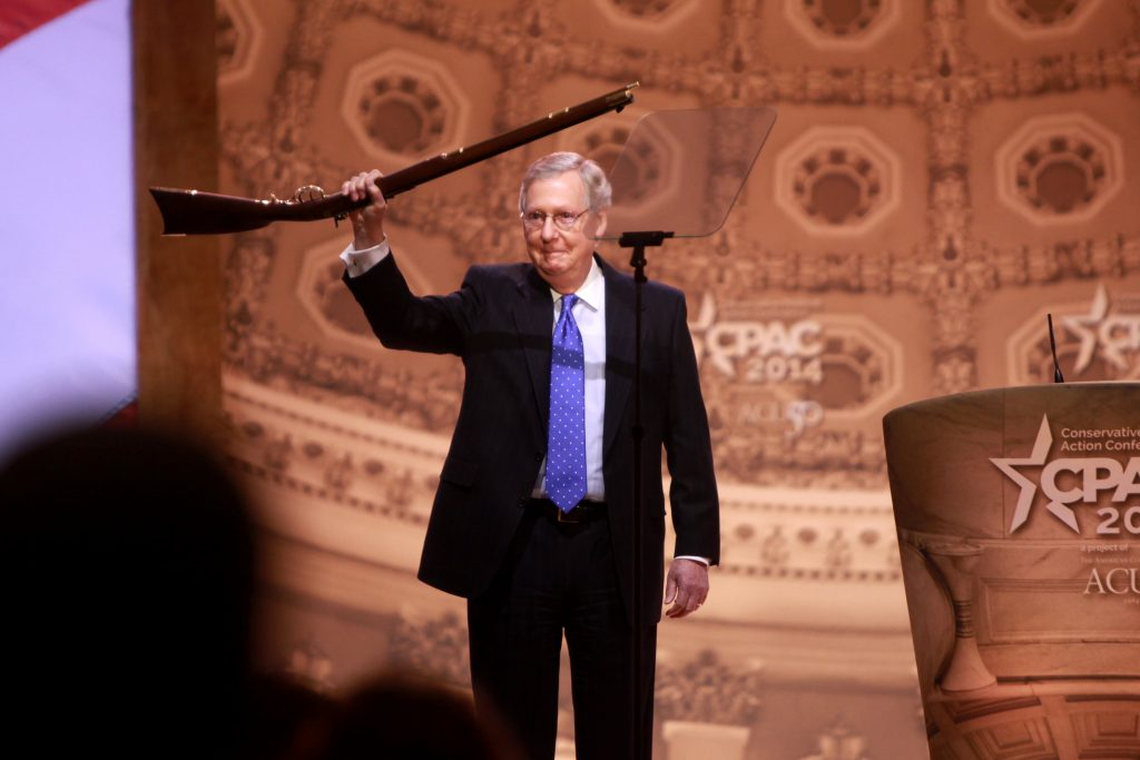 Mitch McConnell: Don't try to take his hemp away.