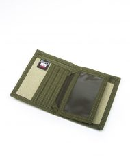 Hempy_s Bi-fold Wallet Green Inside