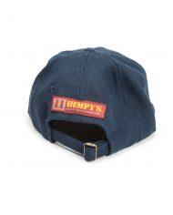 Hempy_s Free Cannabis Baseball Cap-Blue Inside