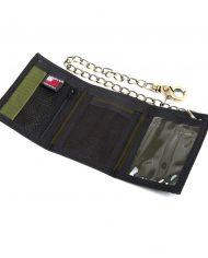 Hempy_s Tri-fold Chain Wallet-Black Inside