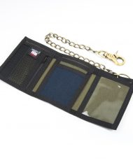 Hempy_s Tri-fold Chain Wallet-Blue Inside