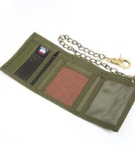 Hempy_s Tri-fold Chain Wallet-Brown Inside
