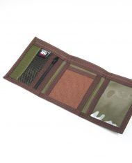 Hempy_s Tri-fold Wallet Brown Tribal-Inside