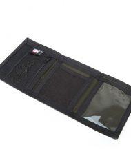 Hempy's Tri-fold Wallet Black Rasta-Inside