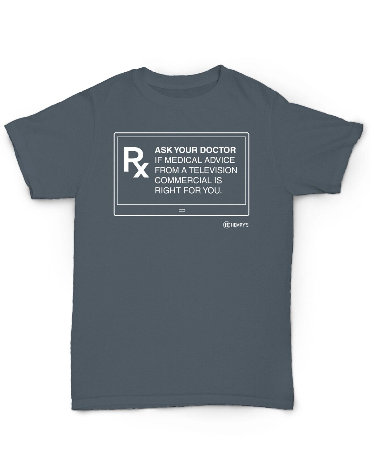 Hemp T Shirt - Ask Your Doctor - Hempys