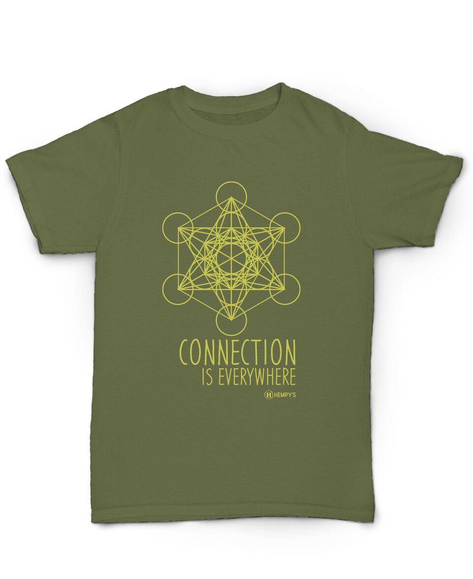 Hemp T Shirt - HEMPY'S Metatron - Hempys