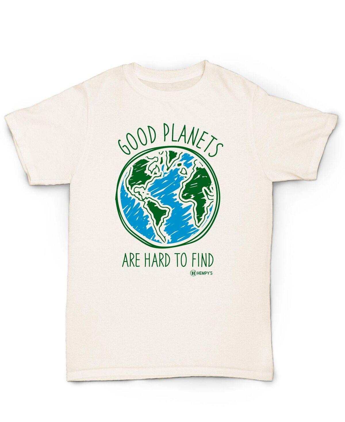 Hemp T Shirt HEMPY'S Good Planets (XS only!)