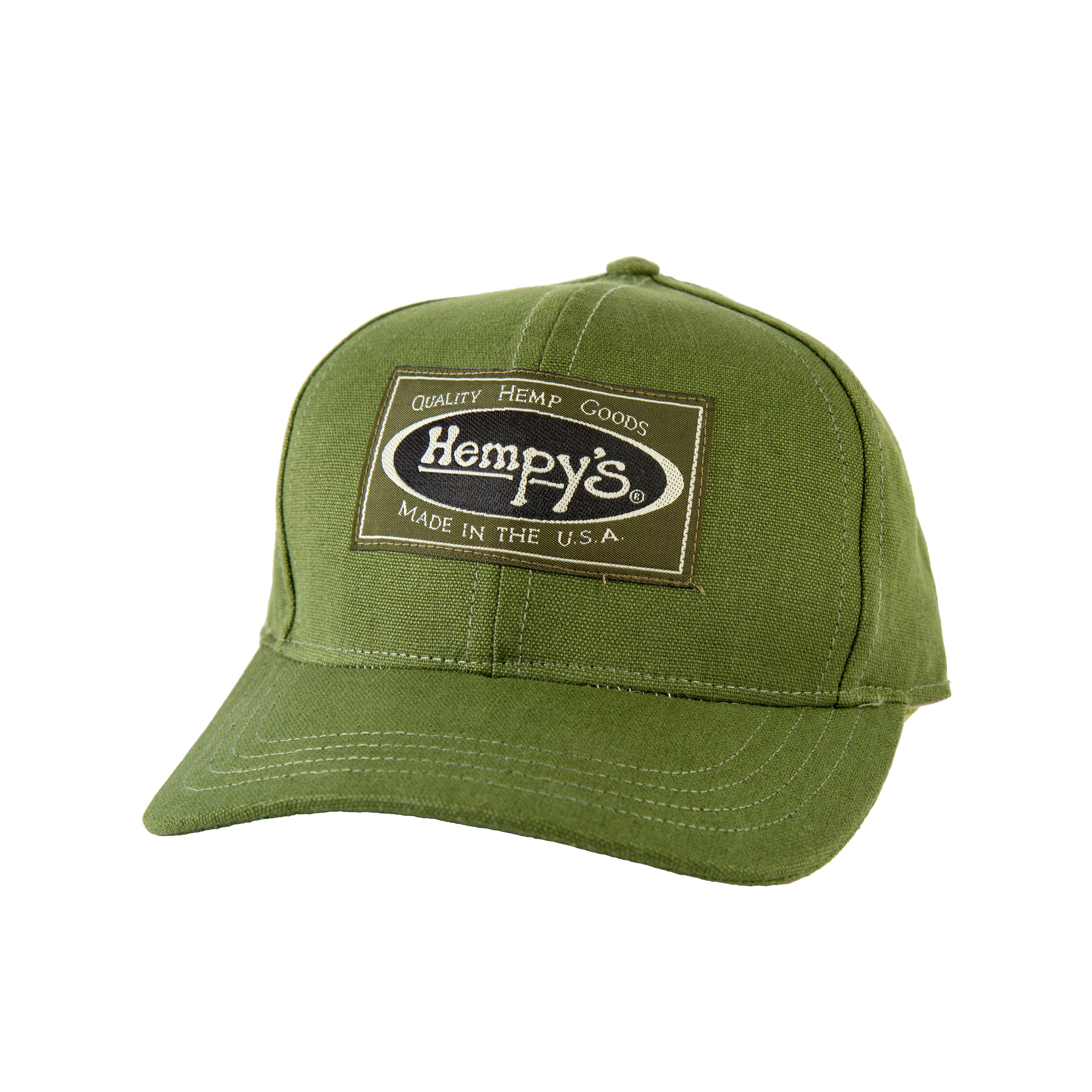 cda791813fa Hemp Vintage Baseball Cap Green - HEMPY S Quality Hemp Goods