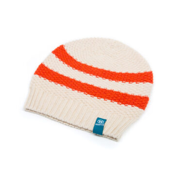 Hemp Beanie Summer Rugby Orange