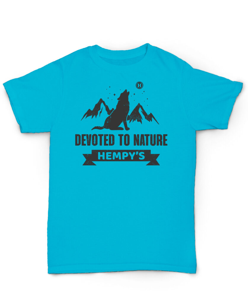 Devoted to Nature Wolf Blue