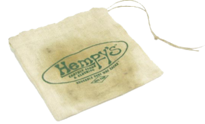 Hempy's first hemp bag.