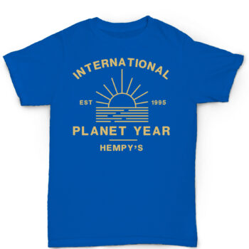 International Planet Year Blue