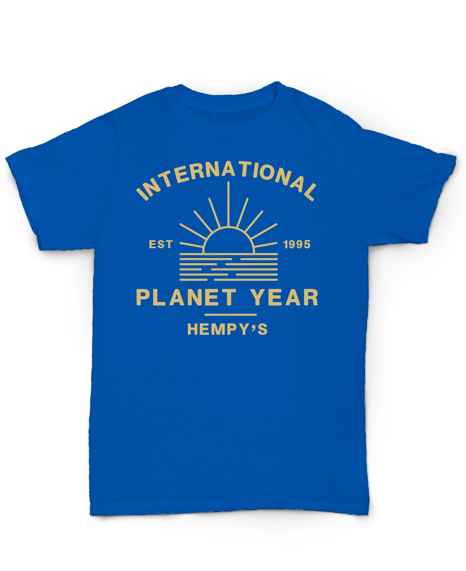 International Planet Year Blue